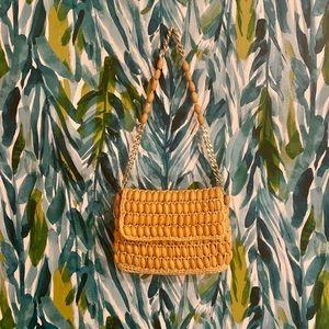Vintage beaded shoulder bag